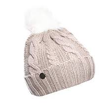 New Balance <b>Women's Lux Knit Pom</b> Beanie, Flat White, One Size ...