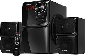 <b>Колонки Sven MS</b>-<b>305</b> 2.1, 40 Вт, <b>черный</b> — купить в интернет ...