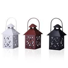 Lanterne Da Giardino Economiche : Set lanterne metallo etnico outlet mobili etnici