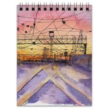 <b>Блокнот Railway sunset</b> #572188 от Мария