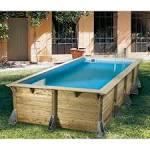 Petite piscine hors sol rectangulaire