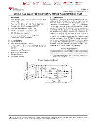 TPS2379 IEEE <b>802.3at PoE High</b>-<b>Power</b> PD Interface With External ...