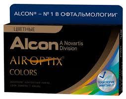 Air Optix (<b>Alcon</b>) Colors (2 <b>линзы</b>) — купить по выгодной цене на ...