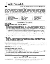 resume of nursenurse resume sample  pages