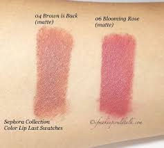 <b>Sephora Collection</b> Color Lip Last <b>04</b> Brown is Back and 06 ...