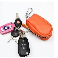 <b>Genuine Leather Car Key</b> Holder House Key Holder Storage Bag ...