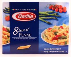 com barilla penne pasta multi pack one pound boxes com barilla penne pasta multi pack 8 one pound boxes value pack grocery gourmet food