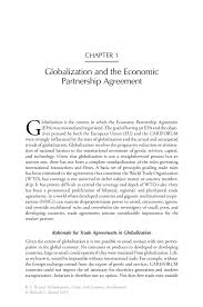 globalization and the economic partnership agreement springer inside
