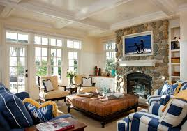 traditional living room by hill construction company big living rooms
