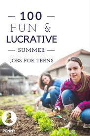 best ideas about summer jobs for teens teen jobs wondering how to make money while you re out of school for the summer