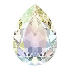 """""""<b>Сваровски</b>"""" <b>4320 Crystal</b> AB 18 х 13 мм кристалл в пакете <b>стразы</b> ..."""