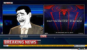 The Amazing Spider-Man Failed!!! by andy7379 - Meme Center via Relatably.com