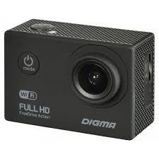 Автомобильный <b>видеорегистратор Digma FreeDrive Action</b> Full ...