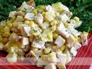 Как приготовить салат из ананасов.фото