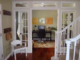 great idea turned unused dining room into beautiful home office love those french doors beautiful dining room office