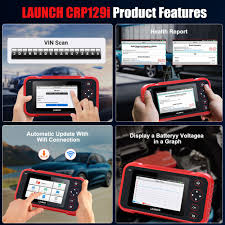 <b>LAUNCH X431 CRP129i</b> Professional OBD2 Scanner OBDII Car ...
