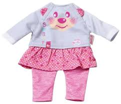 <b>Zapf Creation</b> Комплект одежды для <b>куклы</b> My <b>Little</b> Baby Born ...