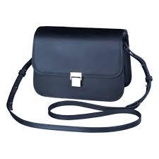 <b>Кожаная плечевая сумка Olympus</b> Black like my Dress (E0410226 ...