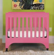 cute pink babyletto hudson crib babyletto furniture