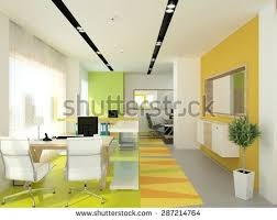 3d rendering of a bank office interior design bank and office interiors