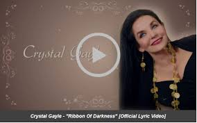 """Crystal Gayle Releases """"Ribbon Of Darkness"""" Today With Lyric ..."""