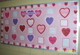 valentines bulletin board designs for office