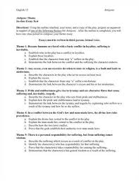 Specifications for the Theme Essay  If you follow the above steps  you would find it easier to write a theme