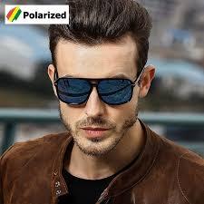 <b>Fashion</b> Classic Square <b>Aviation Style Polarized Sunglasses</b> ...