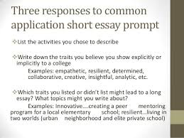 Essay Resume   Common App Essay Examples Prompt   General Writing Tips      sat