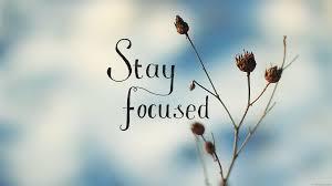 Bildresultat för stay focused