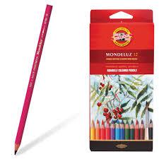 <b>Карандаши цветные Koh</b>-I-<b>Noor</b>, <b>Mondeluz</b>, 12 шт, в картонном ...