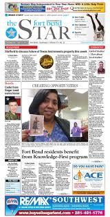 January 21, 2015 - Fort Bend Community Newspaper by Fort Bend ...