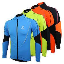 <b>Arsuxeo Men's Cycling Jersey Cycling Jacket Bike Jersey</b> Top ...