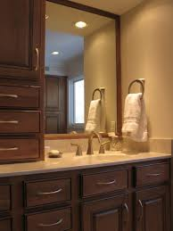 bathroom design bathroom idea with brown vanity whiet towels and large mirror admirable small design bathroom admirable design mirrored closet door