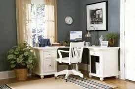 natural plants decorating idea with brown lined rug plus portable white armchair also feminine desk and country white office room amusing corner office desk elegant home decoration
