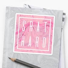 """Srat <b>hard marble</b>"" Sticker by theroyalsass 