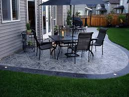 stain patio gray stamped syracuse