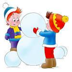 Снеговик для оформления детского сада