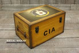 cia retirement gifts unique gift ideas we also offer engraved brass plates to personalize this keepsake box further actual product will vary due to the naturally occurring variances in the