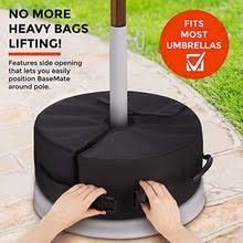 Круглые песочные пакеты с зонтиком, <b>основание для зонта</b> ...