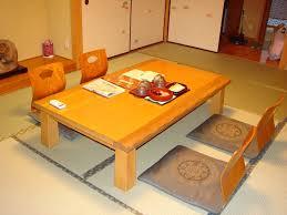 Japanese Dining Room Table Japanese Style Floor Dining Table Circle Black Flower Vase Mercer