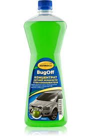 <b>Жидкость стеклоомывающая летняя</b> BUGoff концентрат 1:4 1л ...