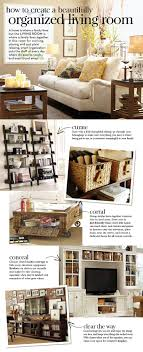 organizing living room ideas