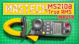 <b>Токовые клещи Mastech</b> MS2108 True RMS