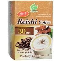 Longreen, <b>Cordyceps Coffee</b>, <b>4 в</b> 1, кофе с кордицепсом, 10 ...