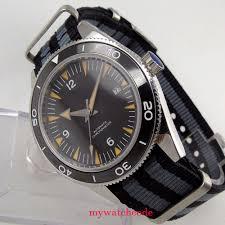 41mm <b>debert black sterile</b> dial luminous ceramic miyota Automatic ...