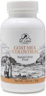 MT. CAPRA SINCE 1928 Goat Milk Colostrum | for ... - Amazon.com
