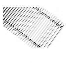 <b>Решетка</b> поперечная алюминиевая Techno, цвет серебро купить ...