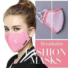 Pink <b>Cotton Breathable Fashion</b> Face <b>Mask</b>, <b>cotton mask</b>, cloth <b>mask</b> ...