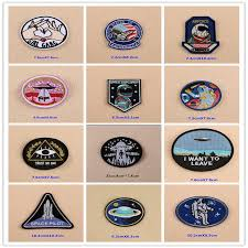 1 PCS <b>UFO Alien</b> parches <b>Embroidered Iron on Patches for Clothing</b> ...